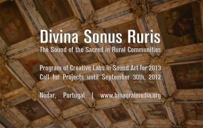 Open Call for 2013 : binauralmedia.org | DESARTSONNANTS - CRÉATION SONORE ET ENVIRONNEMENT - ENVIRONMENTAL SOUND ART - PAYSAGES ET ECOLOGIE SONORE | Scoop.it