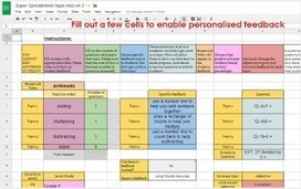 Excellent Google Sheets Tools for Assessment and Grading ~ Educational Technology and Mobile Learning | Edtech PK-12 | Scoop.it