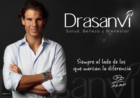 La empresa leonesa Drasanvi ficha a Rafa Nadal como nueva imagen internacional | Internacionalización | Scoop.it