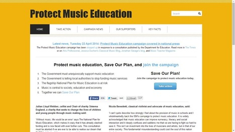 Classical Music magazine - Music education campaigning steps up as councils pressured out of supporting music | Classical Music | StringsAttachedBook.com | Scoop.it