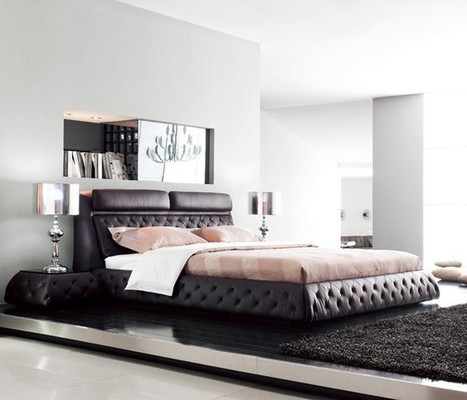 Dark Chocolate Contemporary Bedroom Furniture | MeublesBH | Scoop.it