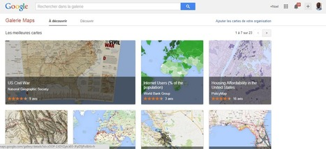 Google lance Galerie Maps, un atlas digital interactif - #Arobasenet | Time to Learn | Scoop.it