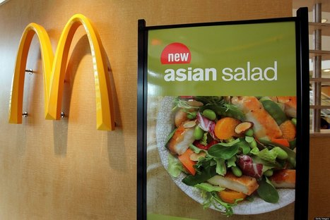 McDonald's Admits Salads Only Make Up 2 To 3 Percent Of Sales - Huffington Post | City Camp - Fast Food Industry | Scoop.it