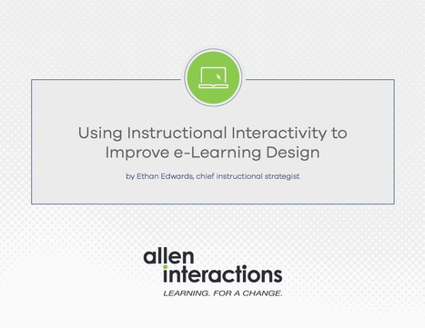 [PDF] Using Instructional Interactivity to improve eLearning Designs | elearning stuff | Scoop.it