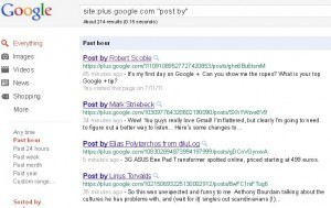 How to Get Your Google+ Plus Posts Indexed in Google | The Google+ Project | Scoop.it