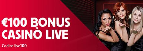 Ottenere 100€ di BONUS nel CASINÒ LIVE | Online Slots | Scoop.it