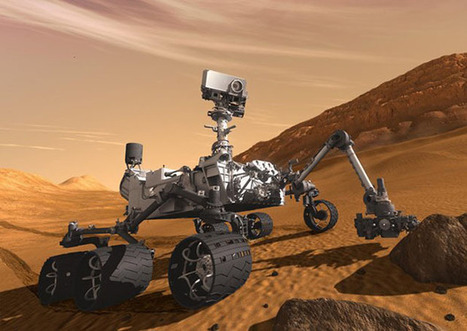 Who is the Photographer Behind Photos Shot by the Curiosity Rover on Mars?   Digital-News on Scoop.it today   Scoop.it