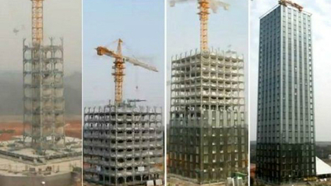 China's Pre-fab Future: Green Buildings in Blink of an Eye | Modern Method Construction | Scoop.it
