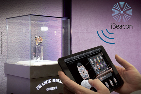 iBeacon serves the watchmaking manufacturer... Pixels Beacon | PixelsTrade Webzine | Business Apps : Applications in-house | Scoop.it
