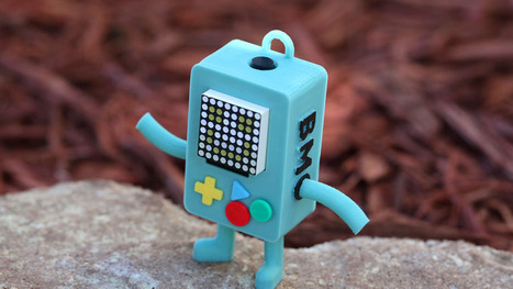 Mathematical! 3D Printed BMO Has a Full Range of Emotions | Open Source Hardware News | Scoop.it