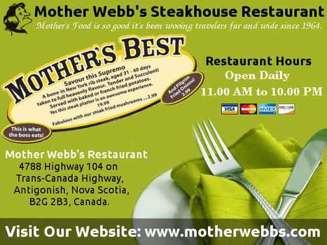 Choosing Steak Service in Antigonish Restaurants | motherwebbs | Scoop.it