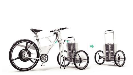 Diseño de bicicleta para el reparto de mercancías / EcoInventos.com | movilidad sostenible | Scoop.it