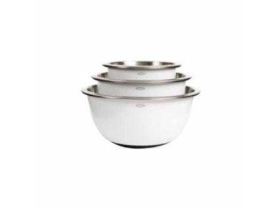 OXO GOOD GRIPs® Stainless Non-Slip Mixing Bowls Set | Cook Tools | Scoop.it