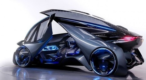 This Chevrolet FNR concept car is science fiction made real | ExtremeTech | Blogs | Scoop.it