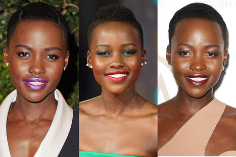11 of Lupita Nyong'o's Most Stunning Beauty Moments | skin care tips | Scoop.it