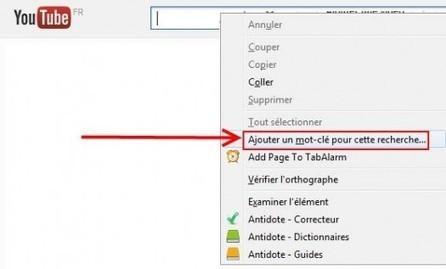 Rechercher sur des sites spécifiques depuis la barre d'adresses de Firefox   Ballajack   François MAGNAN  Formateur Consultant   Scoop.it