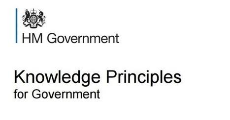 Knowledge principles for government   Évolution organisationnelle   Scoop.it