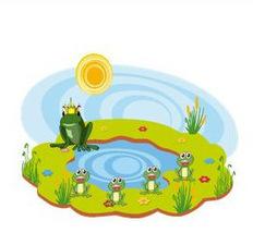 Fábulas de Esopo: Las ranas pidiendo rey | Educapeques Networks. Portal de educación | Scoop.it
