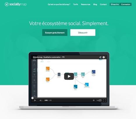 On a testé pour vous : Sociallymap | Web automation | Scoop.it
