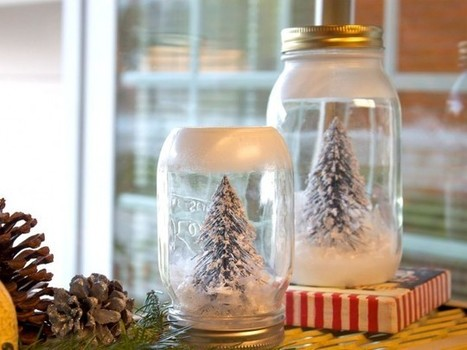 From Our Fave Bloggers: 20 DIY Holiday Decor Projects   No Place Like Home   Scoop.it