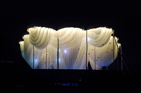 Abin Design Studio Constructs Pavilion of Canopies for Indian Cultural Festival | The Architecture of the City | Scoop.it