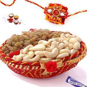 Online Rakhi with Dryfruits basket | Rakhi with Dryfruits | Scoop.it