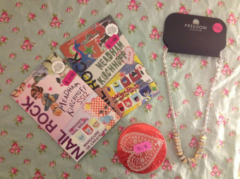 Topshop Sale Haul – Steam Cream, Meadham Kirchhoff Nail Rocks & a rather nutty necklace | Beauty Bloggers | Scoop.it