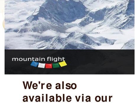 Mountain Flights | Local Flight Experts | Scoop.it