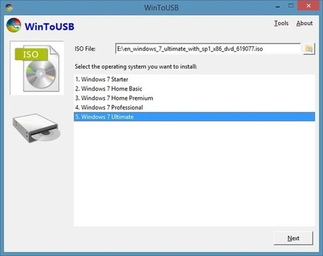 WinToUSB: Tool To Install & Run Windows 7 On USB Drive | Time to Learn | Scoop.it