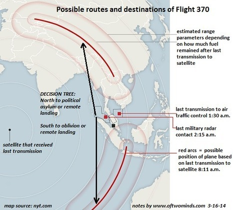oftwominds-Charles Hugh Smith: Finally, a Plausible Scenario of What Happened to Flight 370 | Sustain Our Earth | Scoop.it