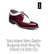 Stacy Adams latest design men's shoe with best deals at Pete's Shoes. | shoes online shop | Scoop.it