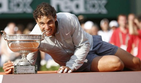 Rafael Nadal crowned champion of Roland Garros | Tennis | Scoop.it