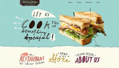 10 Tips to Create Mouth-watering Restaurant Websites | WebsiteDesign | Scoop.it