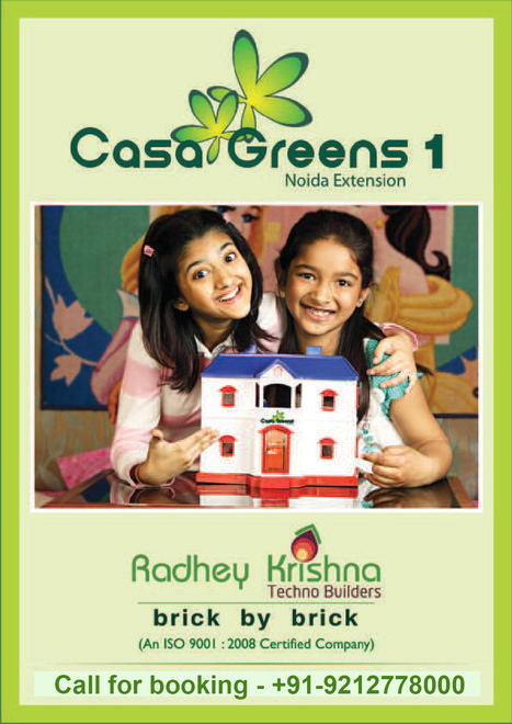 Casa Greens 1 Massive building available with ultramodern facilities | Property in Noida | Scoop.it