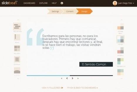 slidebean, una nueva y elegante forma de hacer presentaciones   Recursos Educativos Abiertos para tu área o temática de interés   Scoop.it