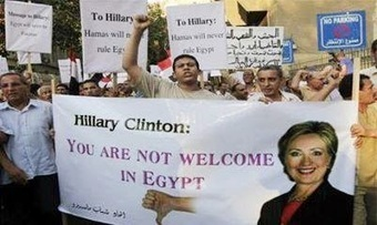Egyptians have a message for Hillary too....you're not welcome | Littlebytesnews Current Events | Scoop.it