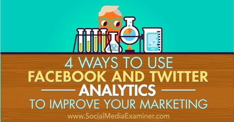 4 Ways to Use Facebook and Twitter Analytics to Improve Your Marketing : Social Media Examiner | Extreme Social | Scoop.it