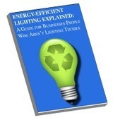 """Energy Efficient Lighting Guide """"For Business People Who Aren't Lighting Techies""""   GreenEc   Scoop.it"""