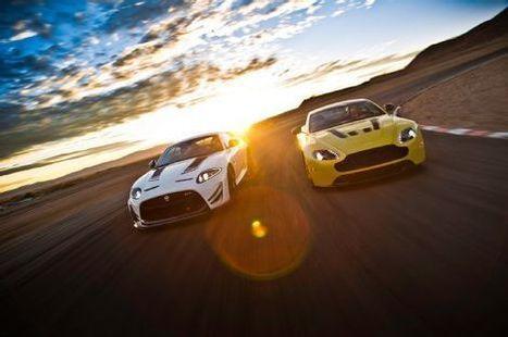2015 Aston Martin V12 Vantage S vs. 2014 Jaguar XKR-S GT Comparison - Motor Trend | My English Tom Meijer | Scoop.it
