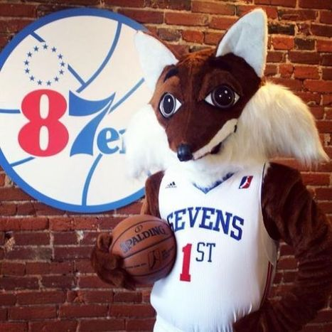 The 87ers just got a Fox mascot, so a bad one for the Sixers is likely on-deck - Section 215 | Mascots in the news | Scoop.it