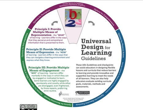 UDL Learning Wheel | Accessible Computing | Scoop.it