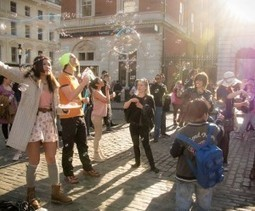 Our Bubbles are Offically June's BEST Event - according to brokeinlondon.com | Positive Collective Social Action | Scoop.it
