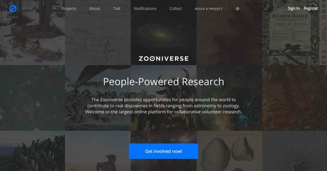 Zooniverse | Tools for Teachers & Learners | Scoop.it