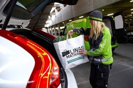 Volvo grants etailers access to trunk of car | ecommerce Crosscanal, Omnicanal, Hybride etc. | Scoop.it