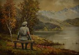 Banksy adds Nazi to thrift store painting, amps up charity's fund-raising | The History of Art | Scoop.it