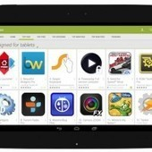 Google Play store to position tablet-optimized apps front and center from next month | Let us learn together... | Scoop.it