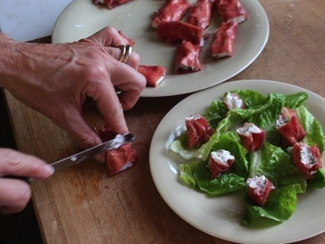 Roulés de bresaola à la ricotta | Food sucré, salé | Scoop.it