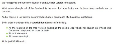 Scoop.it launches Scoop.it Pro and Scoop.it Education Scoop.it | Social Media Optimization &  Search Engine Optimization | Scoop.it