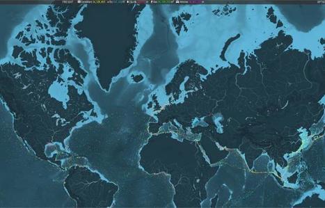 Interactif. Les mouvements mondiaux des navires sur une carte | Univers géographique (geographical universe) | Scoop.it