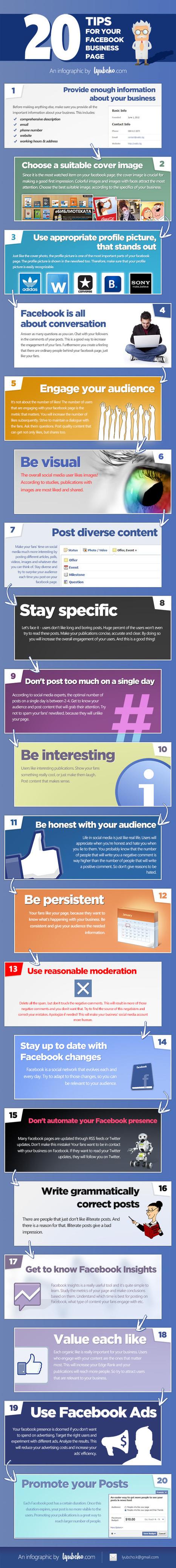 20 consejos para tu página de FaceBook ... - TICs y Formación | AVANCES TECNOLOGICOS | Scoop.it